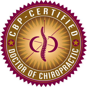 CBP Certified - Doctor of Chiropractic